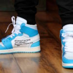 【2018/07/16UNDEFEATEDで再販!】OFF-WHITE × NIKE AIR JORDAN 1 UNC