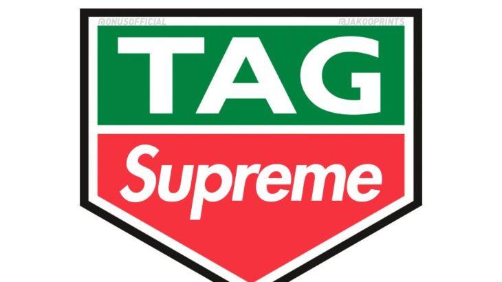 """スイスの高級時計メーカー""""TAG Heuer""""とSupremeのコラボが2018FWにリリース予定。"""