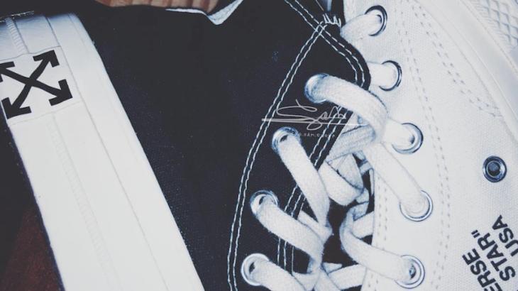 【発売なし!】OFF-WHITE × CONVERSE CHUCK TAYLOR