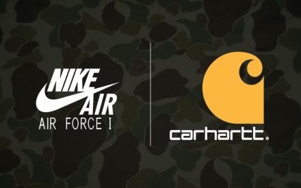 【2018年10月販売予定!】Carhartt WIP x Nike Air Force 1 Low/AIR MAX 95