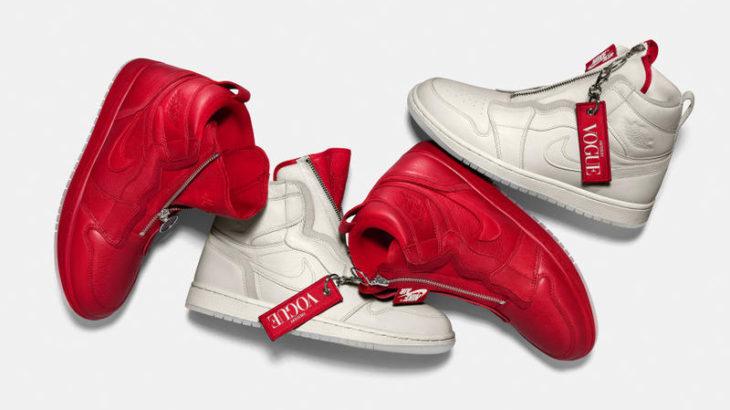 """【国内未定!】ファッション誌""""Vogue""""とNIKEによる異例のコラボAir Jordan 1 """"High Zip AWOK""""/Air Jordan 3 """"AWOK"""""""