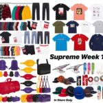 【WEEK1】Supremeで2018年8月18日/25日に発売予定の新作アイテム一覧